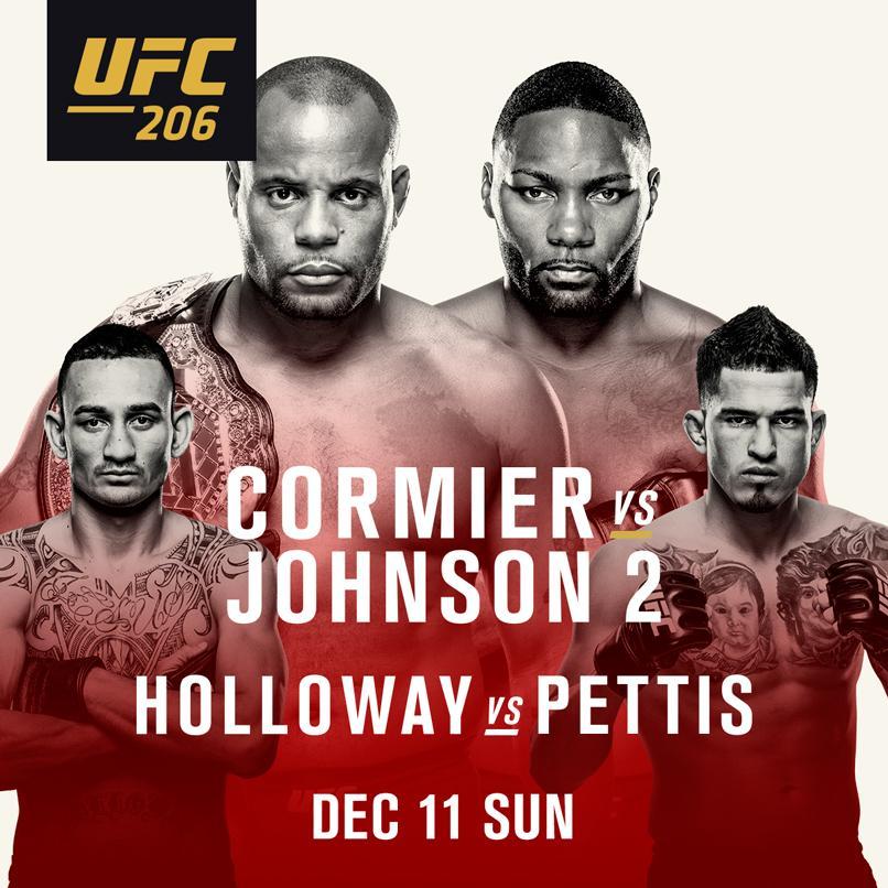 UFC 206 Skinny Dog Hotel Live Free Entry